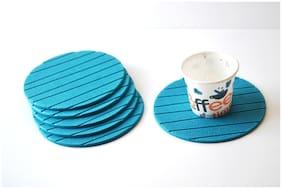 RSTC Tea Coaster Pack of 6 PC  Blue