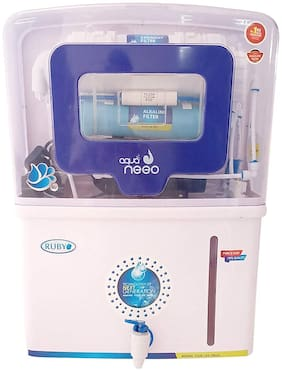 Ruby Economical RO with Alkaline 12 L 5 Stage purification Electric Water Purifier