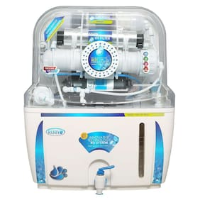 Ruby 12 Stage 12 L RO+UV Water Purifier (White)