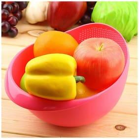 Rudreshwar Washing Strainer Cum Bowl for Rice, Fruits, Vegetables