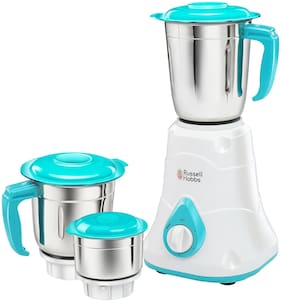 Russell Hobbs LIVIA550 550 W Mixer Grinder ( White , 2 Jars )