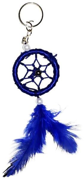 Ryme Blue Dream Catcher Key Chain