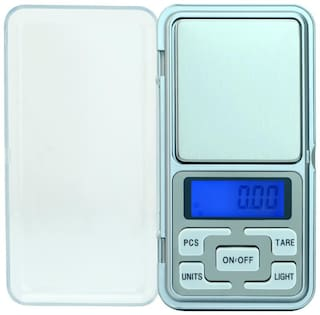 ryshaa Pocket Scale Mini Portable Electronic Digital Weighing Scale for Measuring Jewellery and Kitchen 200g - (Pack of 1)
