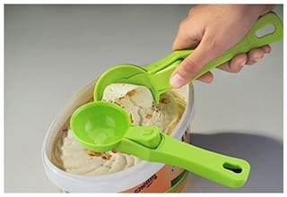 S M Ice Cream Scoop Smooth & Sturdy (Color may Vary)