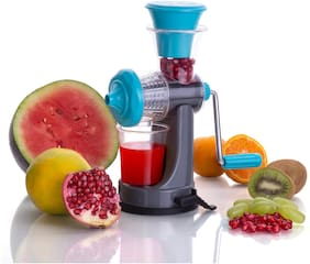 S M Nano Fruit & Vegetable Manual Juicer - Assorted colour