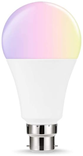 S4 9W RGBW b22d LED Colour Changing Decorative Light Bulb for Home Decor , White