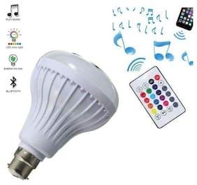 S4 LED Music Light Bulb;B22 led Light Bulb with Bluetooth Speaker RGB Self Changing Color Lamp Built-in Audio Speaker