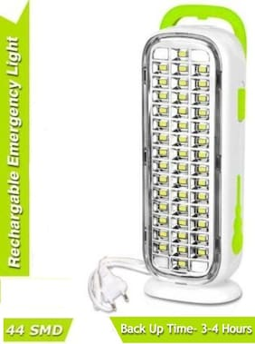 S4 Rechargeable 44 SMD Home Emergency LED Light Extra Bright Lantern Emergency Light(Assorted)