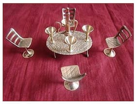 PAARTHA SAARTHI Brass Showpieces ( Set of 10 )