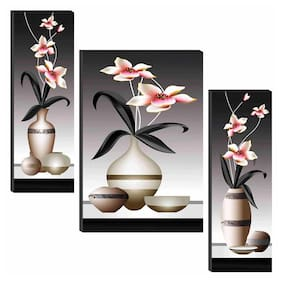 SAF Flower Pot 6MM MDF High Quality UV Textured Self Adessive Painting 24 Inch X 18 Inch