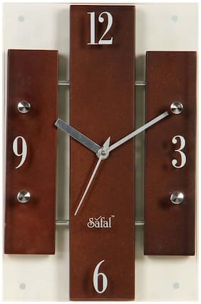 Safal Glass Analog Wall clock ( Set of 1 )