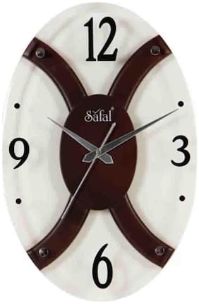Safal Wood Analog Wall clock ( Set of 1 )