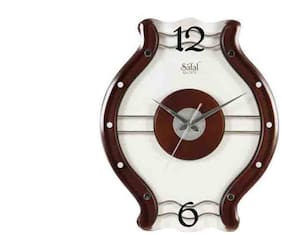 Safal Brown Wall clock