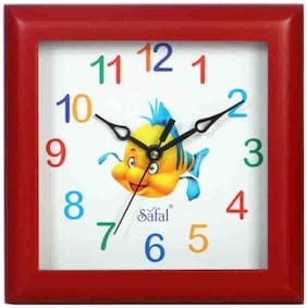 Safal Red Wall clock