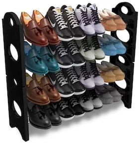 SAFE HEED Abs & Plastic Shoe Rack ( Assorted )