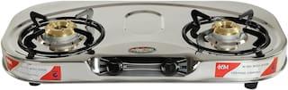 Safeline Safeline 2 Burner Regular Silver Gas Stove ,