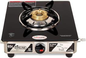Safeline 1 Burner Stainless Steel Gas Stove - Black