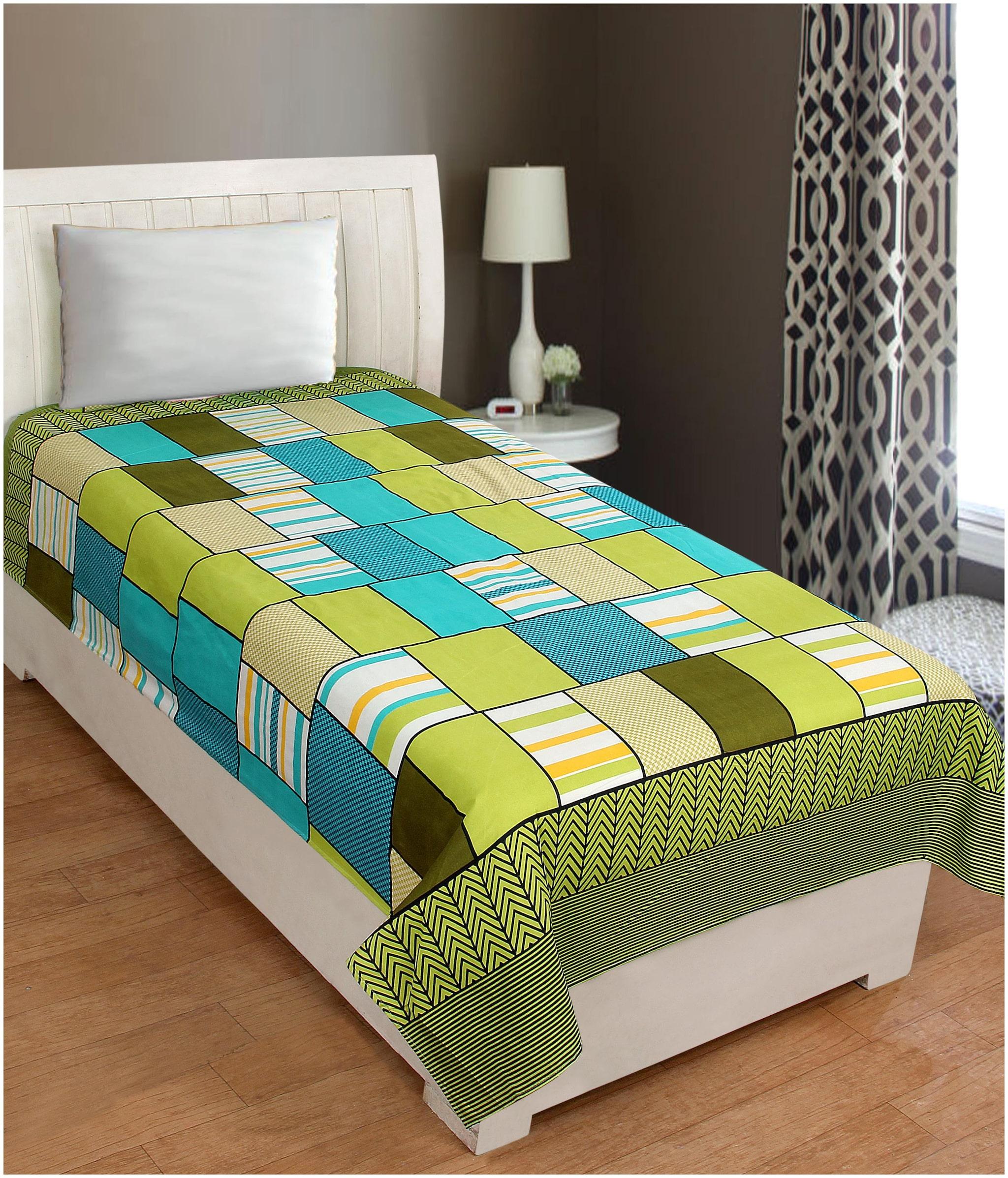 Sai Arpan PolyCotton Single Bed Sheet