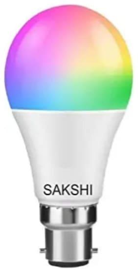 SAKSHI LIGHTS 9W 7-1 COLOER LED BULB