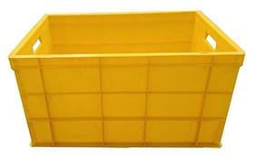 Supreme 2700 ml Yellow Plastic Container Set - Set of 1