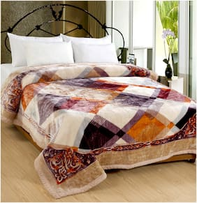 San Marco Tiffany Super Soft Single Layered Winter Blankets - Single Bed
