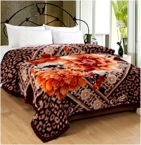 San Marco Tiffany Super Soft Single Layered Winter Blankets - Single Bed