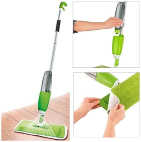 Sanatanaya Multifunctional Microfiber Floor Cleaning Healthy Spray Mop with Removable Washable Cleaning Pad and Integrated Water Spray Mechanism