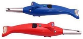 Sapware Dolphin Shape Gas Lighter Pack Of 2