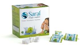 Saral Magic Napkin Paper Napkins - 25