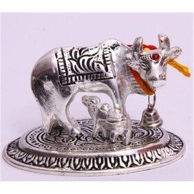 SatyaVipal Acrylic Silver Idol ( Set Of 1 )