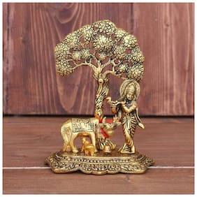 Satya Kamdhenu Cow Krishna Ji Under Tree