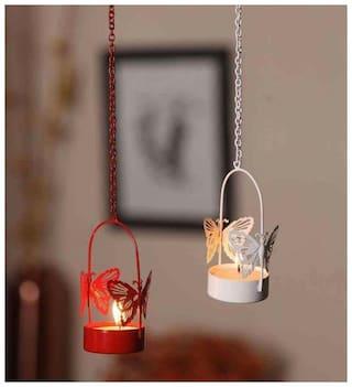 Satya Vipal Iron Multi Tea light holder