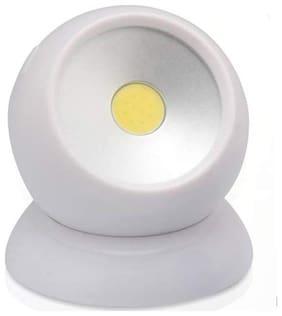 sayee Plastic Modern White Lamp ( 1pc )