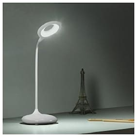 sayee Plastic Modern White Lamp ( Set of 2 )