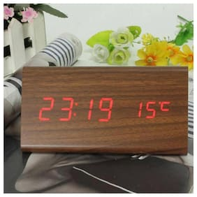 sayee Brown Alarm Clock