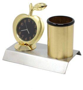 Global Golden Table Clock