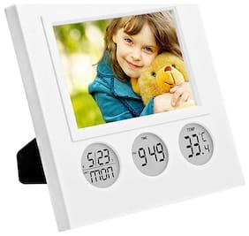 Global Plastic Digital Table clock ( Set of 1 )