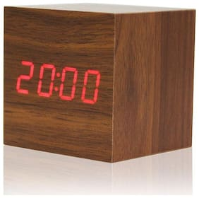 Global Brown Table clock