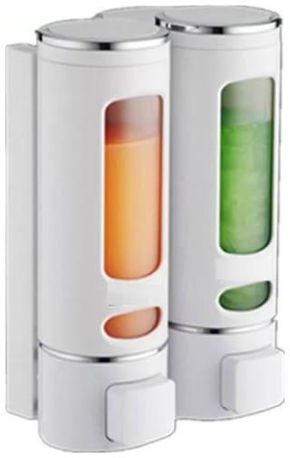 SBL Set of 2 White Innova TOTAL Home Heavy Duty Abs 400 ml Gel, Lotion, Conditioner, Soap, Shampoo Dispenser  (White)