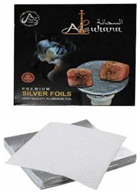 Scoria Metal Silver Hookah Set Of 12&above