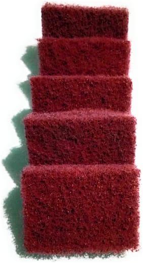scrub Pad Super Tough Brown color