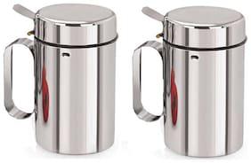 SEAHAWKS 1 L Stainless steel Oil & Vinegar Dispensers - Set of 2