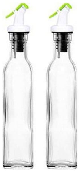 SEAHAWKS 500 ml Stainless steel Oil & Vinegar Dispensers - Set of 2