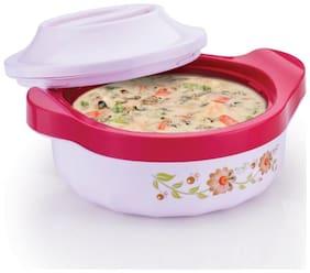 Sedulous Casserole/HotPot,chapati box/chapati container/hot case Thermoware Casserole  (Pink-1200 ml)