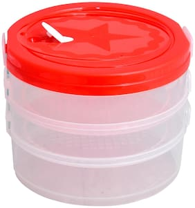 Sedulous Housewares Sprout Maker Container Organic Making Sprouts Red color