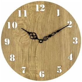 Sehaz Artworks Beige Wall clock