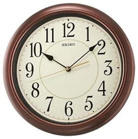 Seiko Plastic Analog Wall clock ( Set of 1 )