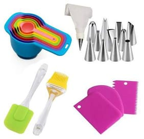 Sell Net Retail Plastic Multi Baking & icing tools ( Set of 5 )