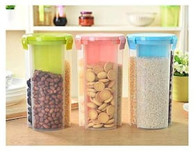Sell On 1000 ml Multi Plastic Container Set - Set of 3