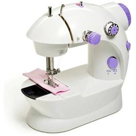 Seller5253 Mini Sewing Machine Portable 4 In 1 With Adapter And Pedal